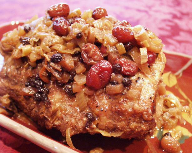 ... Review Pork Loin Served With Cranberry Apple Chutney Recipe - Food.com