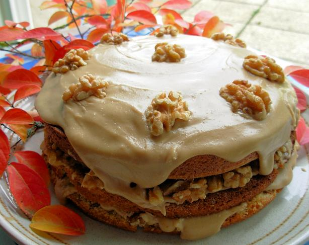Canadian Maple Walnut Layer Cake With Fudge Frosting. Photo by French ...