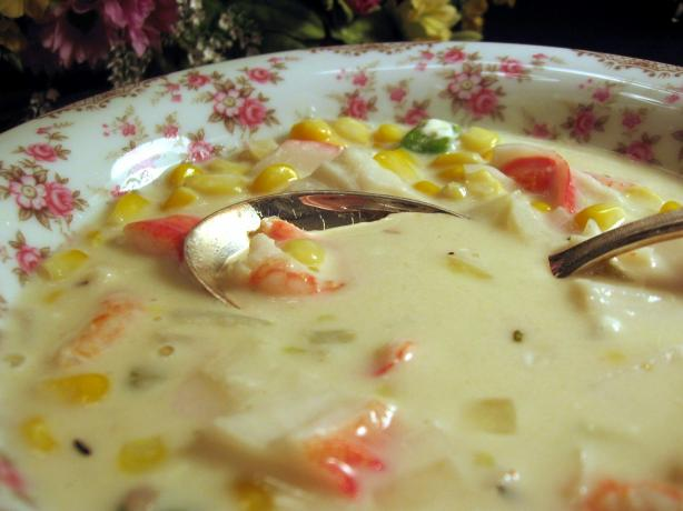 cold tomato summer vegetable soup cold southwestern corn and shrimp ...