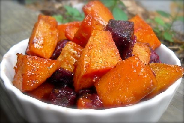 Roasted Sweet Potatoes With Honey-Lime Glaze Recipe - Food.com