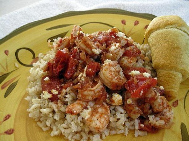 Greek-Spiced Baked Shrimp Recipe - Greek.Food.com