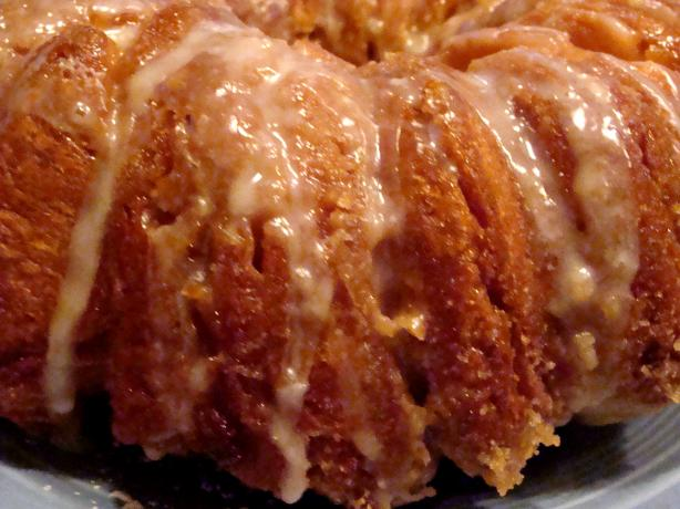 Orange Pecan Cream Cheese Pull-Apart Danish Loaf. Photo by Lvs2Cook