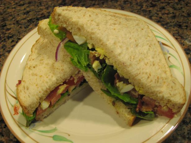 Cobb Salad Club Sandwich. Photo by gailanng