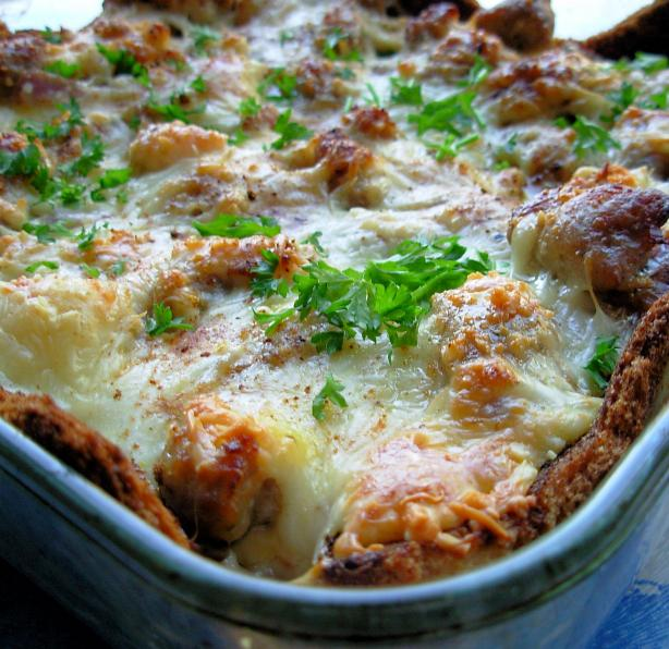 Sausage Crescent Breakfast Casserole. Photo by French Tart