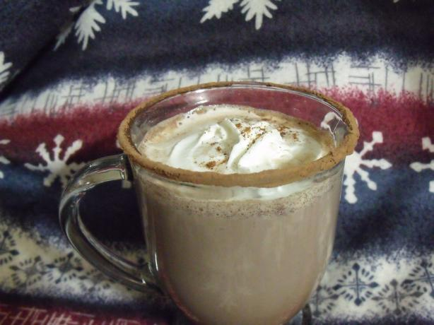Hot Chocolate With Skim Milk, Cocoa Powder and Maple Syrup. Photo by ...