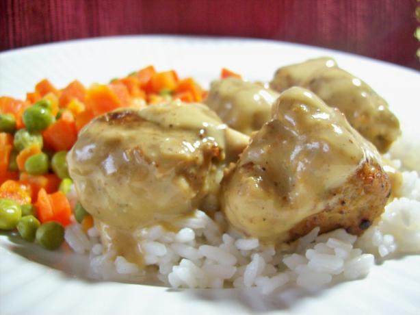 Swedish Turkey Meatballs. Photo by Chef shapeweaver ©