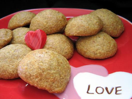 Lemon Cornmeal Cookies (Cooking Light). Photo by Annacia