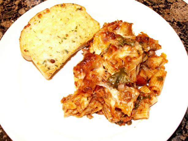 Baked Penne With Sausage and Spinach (Oven or Crock-Pot). Photo by ...