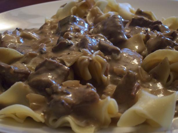 Slow Cooker Beef Stroganoff. Photo by Dr. Jenny