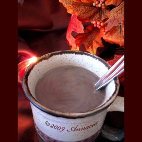 Maple Hot Chocolate. Photo by Annacia