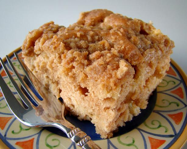 Apple Coffee Cake With Crumble Topping. Photo by Marg (CaymanDesigns)