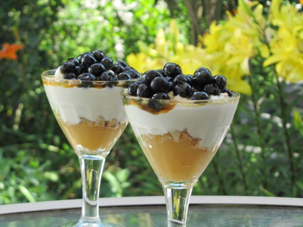 Lemon And Blueberry Yogurt Parfait Low Fat) Recipe - Food.com