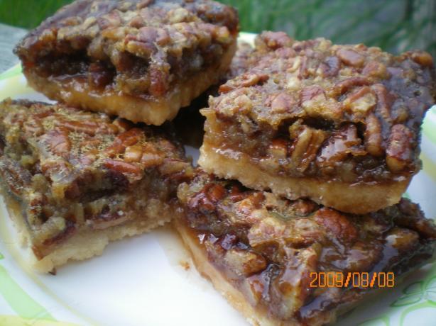 Pecan Pie Squares Recipe - Baking.Food.com