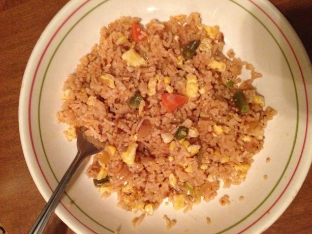 Kittencal's Best Chinese Fried Rice With Egg. Photo by catbrock