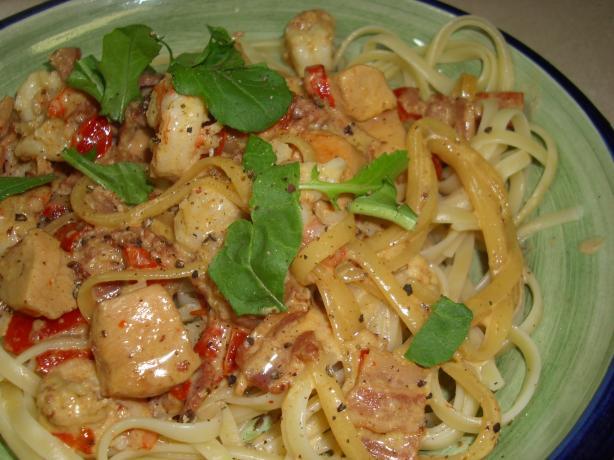 Food Network Shrimp Carbonara