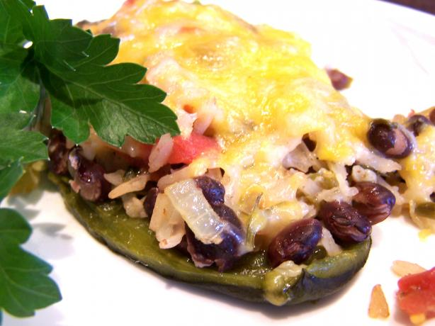 Mexican Rice Stuffed Poblano Peppers Recipe - Food.com