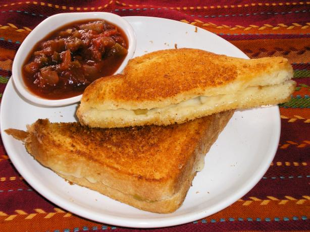 Mexican Grilled Cheese Sandwich. Photo by Julie B's Hive