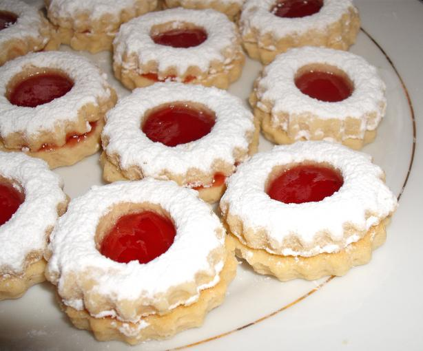 Traditional Algerian Sables (Cookies) - Like Linzer Augen. Photo by Um ...
