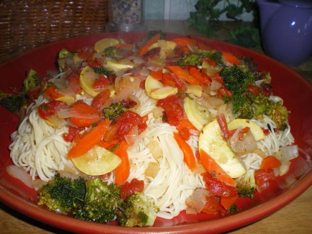 Olive Garden Capellini Primavera Recipe