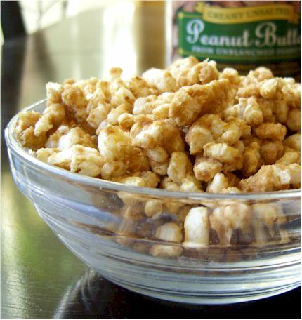 Peanut Butter Cinnamon Rice Cake Crumbles (Or Popcorn). Photo by Dairy ...