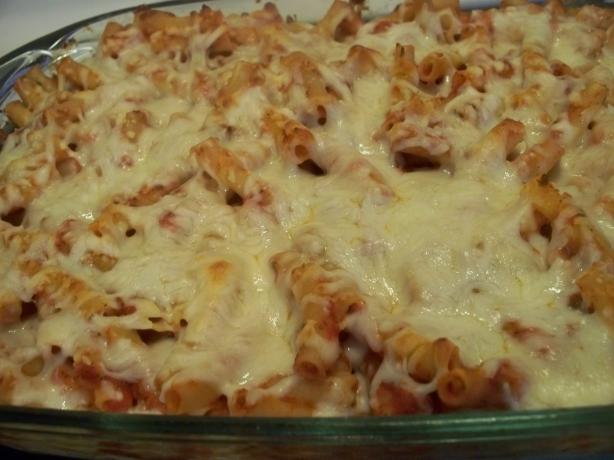 Cheese Baked Ziti. Photo by *Parsley*