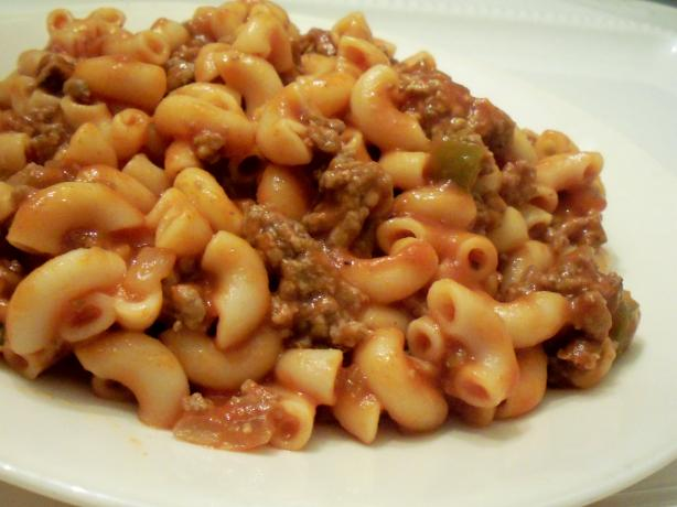 Easy Beef Macaroni. Photo by *Parsley*