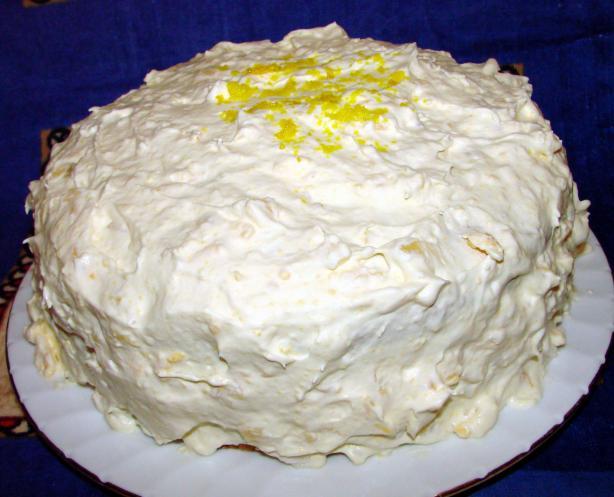 Orange Cake Icing Recipes: Mandarin Orange Cake With Frosting Recipe