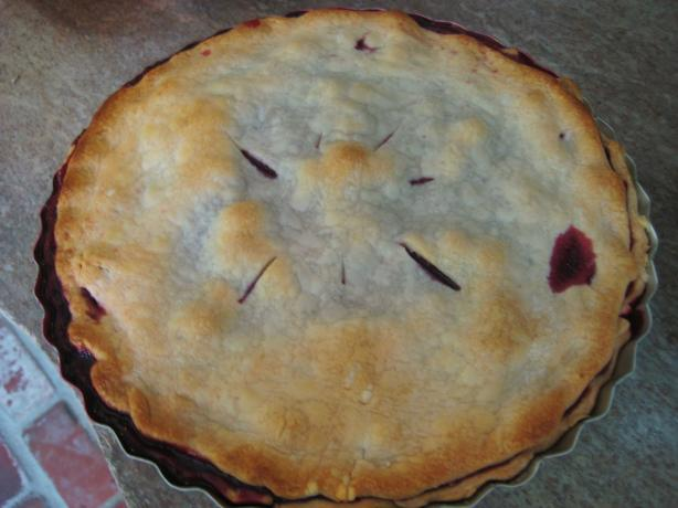 Nectarine Blackberry Open Faced Pie Recipes — Dishmaps