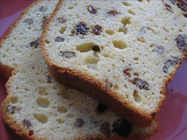 Holiday Rum Eggnog Bread. Photo by Heather U.