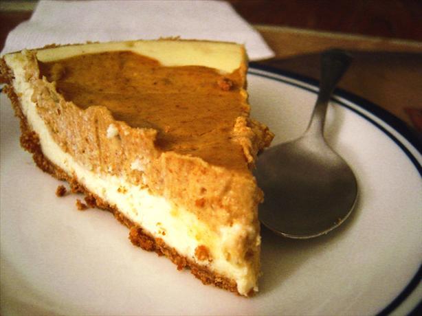Pumpkin Layer Cheesecake Recipe - Food.com