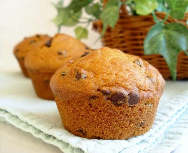 Pumpkin Chocolate Chip Muffins. Photo by Marg (CaymanDesigns)