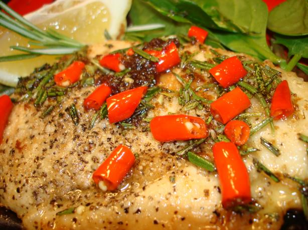 Chicken With Garlic, Chilli, Bay Leaves and Rosemary. Photo by Vicki ...