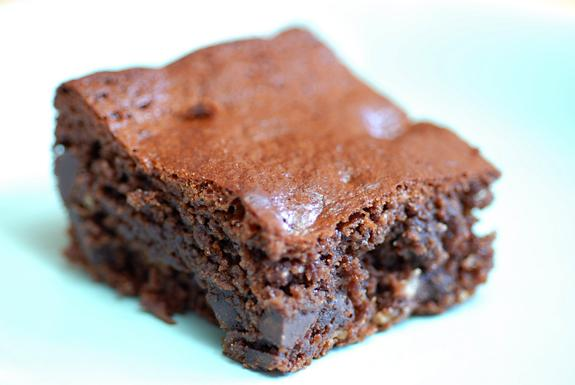 Gluten Free Chocolate Chip Brownies. Photo by Elana's Pantry