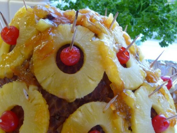 Bourbon, Pineapple And Orange Glazed Holiday Ham Recipe - Christmas ...
