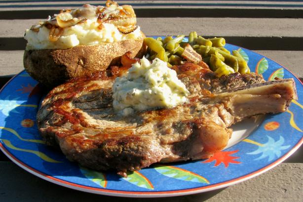 Steaks With Blue Cheese Butter Recipe - Southern.Food.com