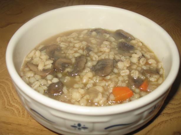 Beef Mushroom Barley Soup. Photo by Acadia*
