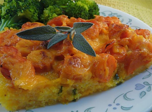 Baked Polenta Carrot Casserole Recipe - Food.com