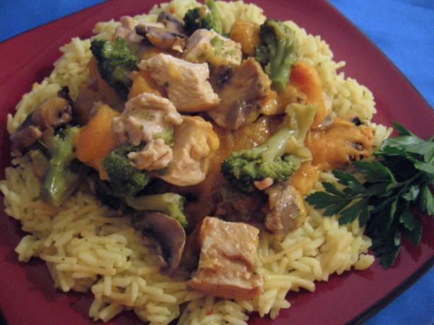 Broccoli and Chicken Casserole. Photo by Brenda.