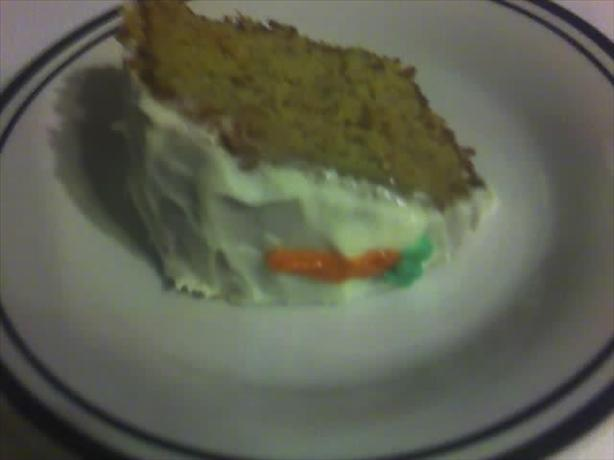 Freeman Allen Carrot Cake Recipe