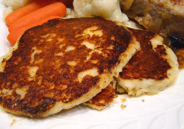 Garlic Mashed Potato Pancakes Recipe - Breakfast.Food.com