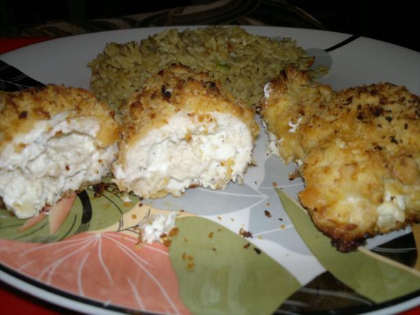 Savory Stuffed Chicken Breasts (Seasoned Cream Cheese Stuffing). Photo ...