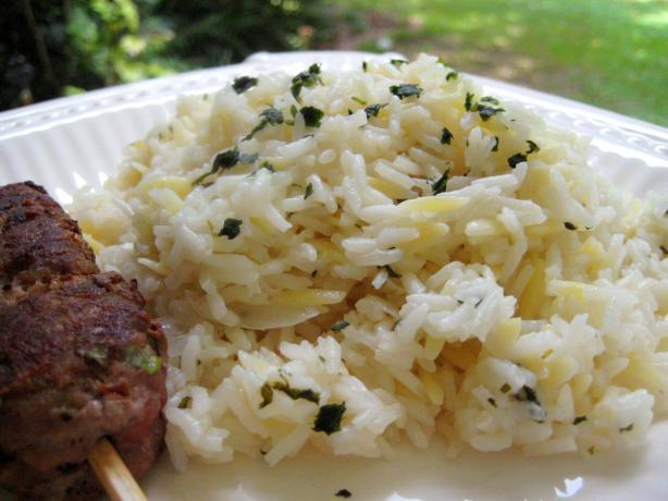 Greek Lemon Pilaf. Photo by gailanng