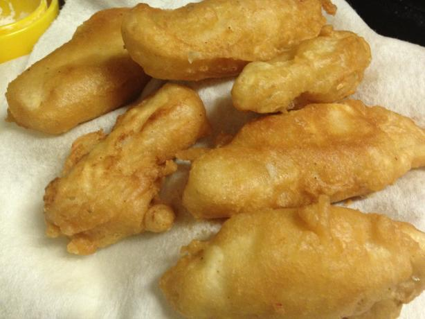 Crunchy Batter Fried Fish (No Beer). Photo by a_kenney