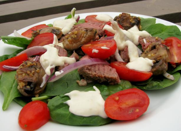 Steak Salad W Creamy Horseradish Dressing Recipe - Food.com