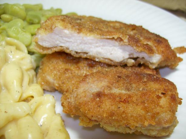 Low Cost German Pork Schnitzel. Photo by Chef shapeweaver