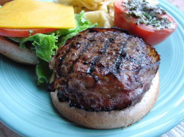 Bacon Wrapped Hamburgers Recipes — Dishmaps