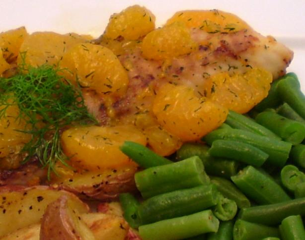 Fish with mandarin and dill sauce recipe for Dill sauce for fish