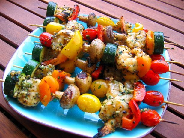 Grilled Garlic Pepper Shrimp. Photo by jtangen