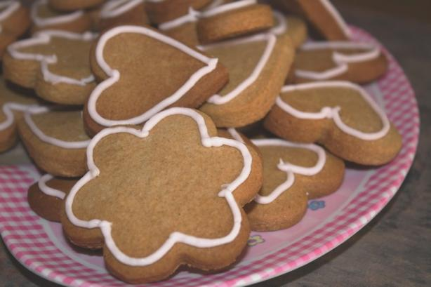 Gingerbread Cookies (Gluten Free). Photo by **Jubes**