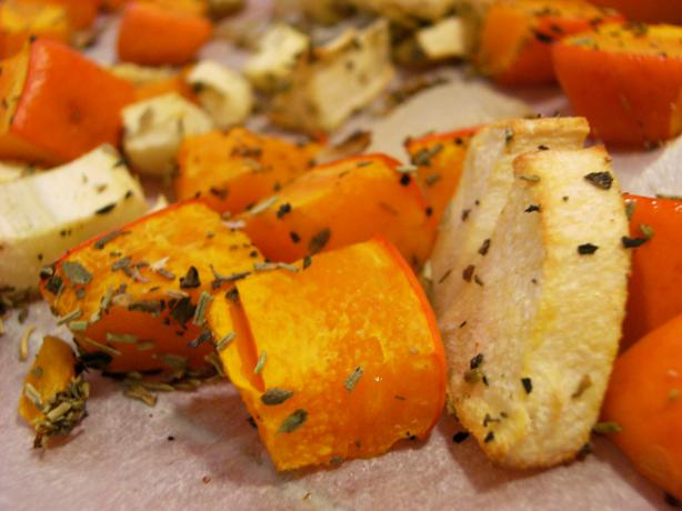 Roasted Winter Root Vegetables. Photo by Lalaloula